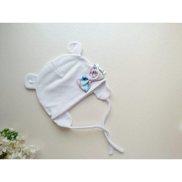 Tüdrukute lumivalge kevadmüts sügismüts