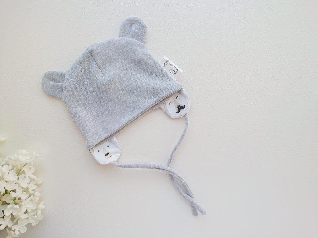 poiste helehall soonikkangast kevadmüts / sügismüts