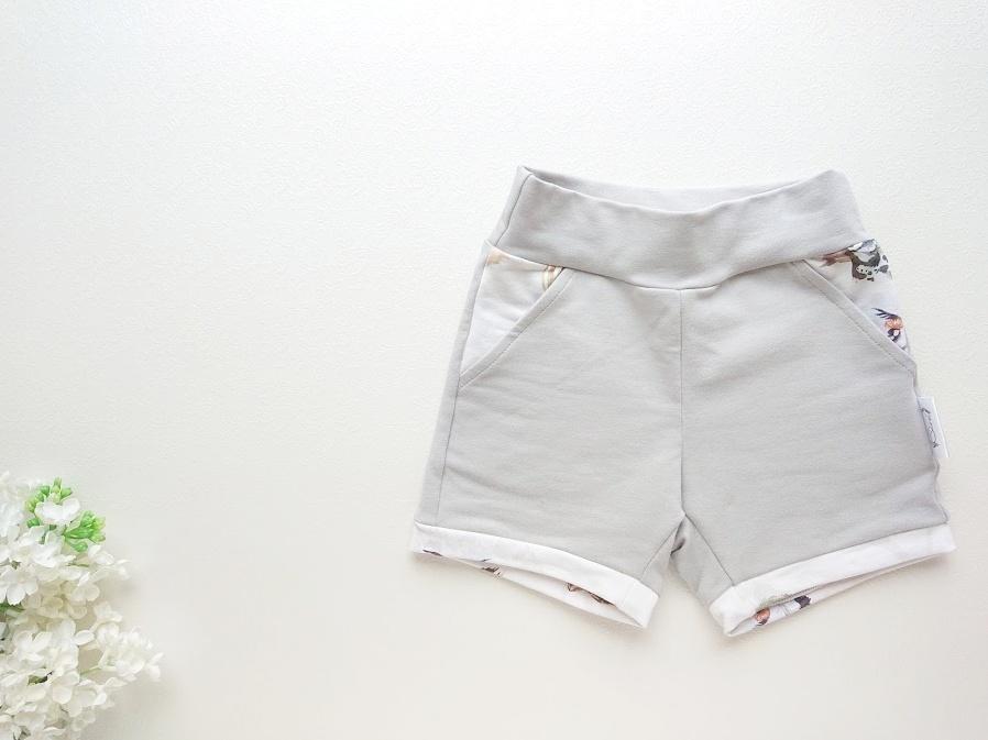 Hallid poiste lühikesed püksid beebipüksid suveks
