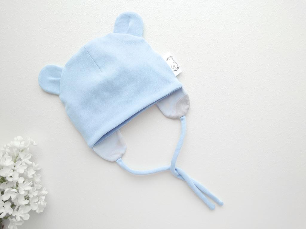 Poiste helesinine kevadmüts sügismüts beebimüts