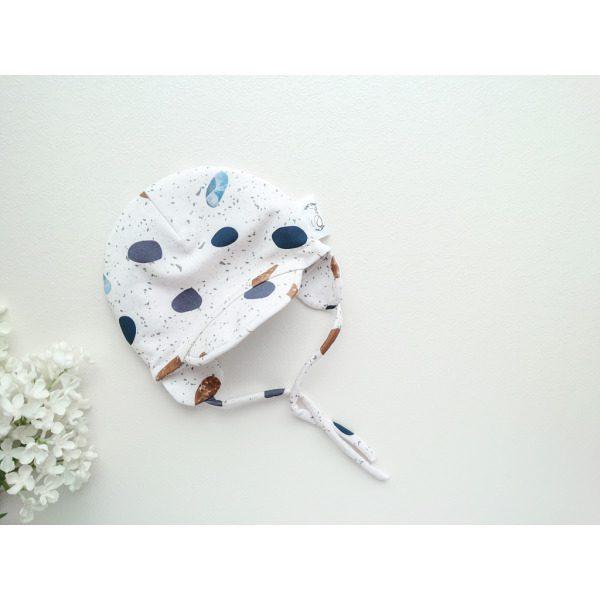 Poiste puuvillane kevadmüts/sügismüts nokaga