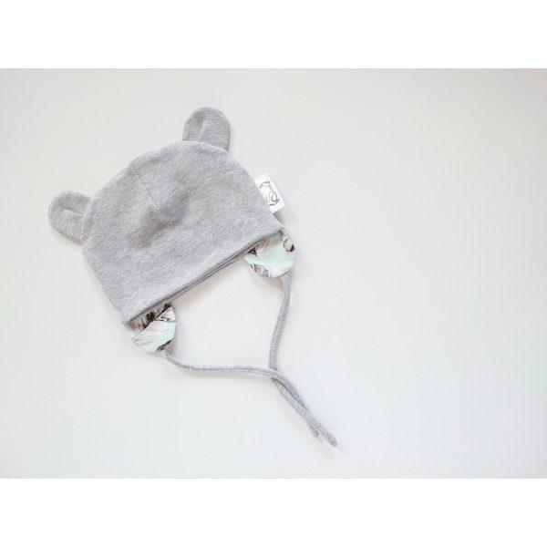 poiste hall soonikkangast kevadmüts / sügismüts