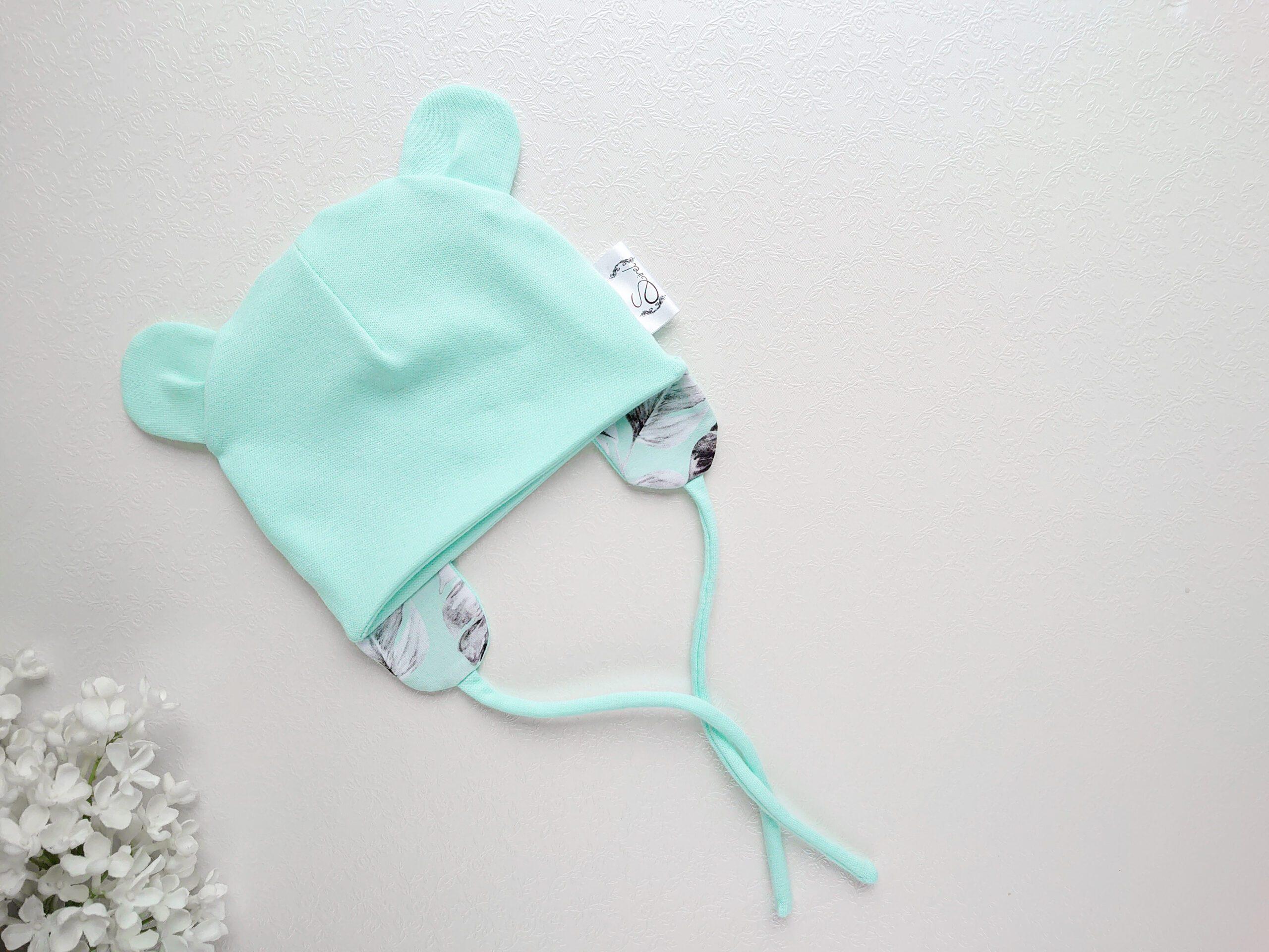 poiste mündiroheline soonikkangast kevadmüts / sügismüts