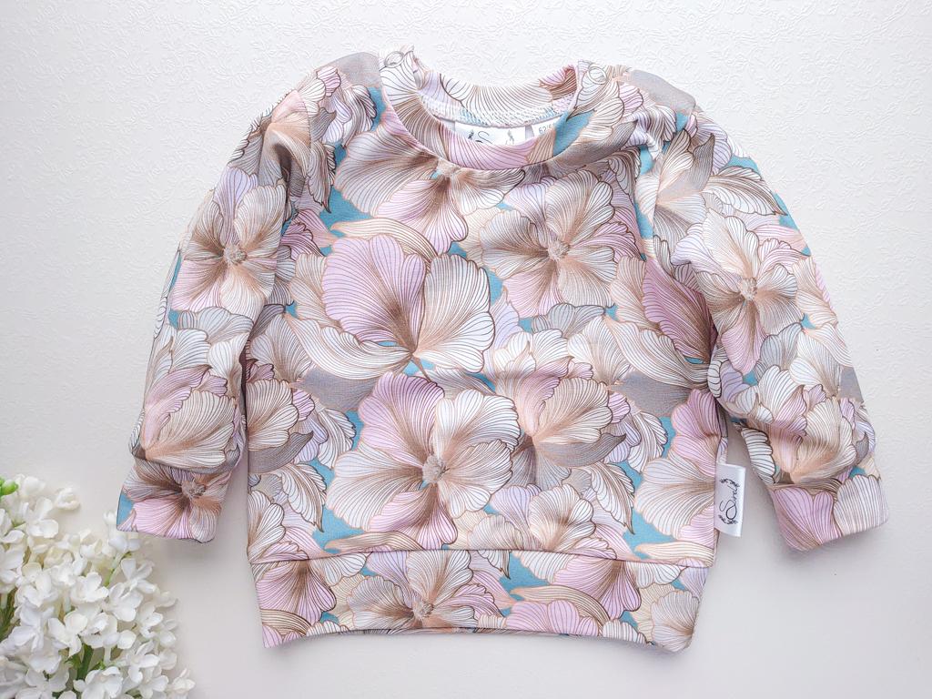 beež-ja-heleroosa-vanaroheline-lilleline-tüdrukute-dressipluus-dressikomplekt-beebile-beebidressid-südametega-lasteriided-riided-vastsündinule-imiku-riided-kojutoomisriided