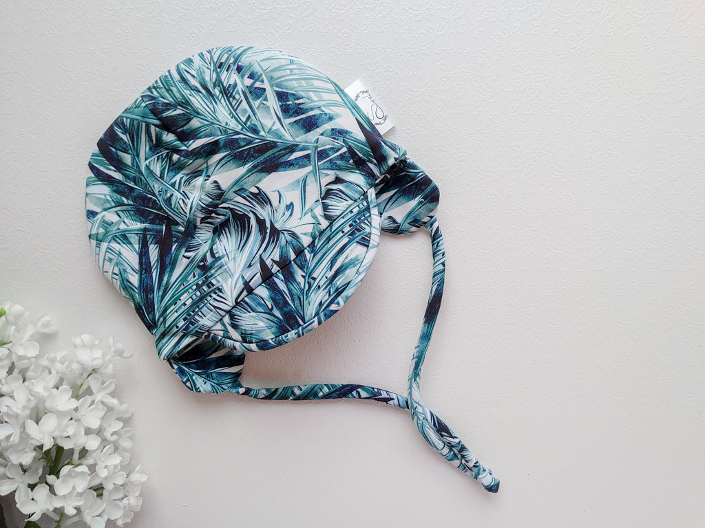 Poiste kevadmüts sügismüts nokaga beebimüts kevadeks ja sügiseks poisile tumeroheline ja sinine, hall
