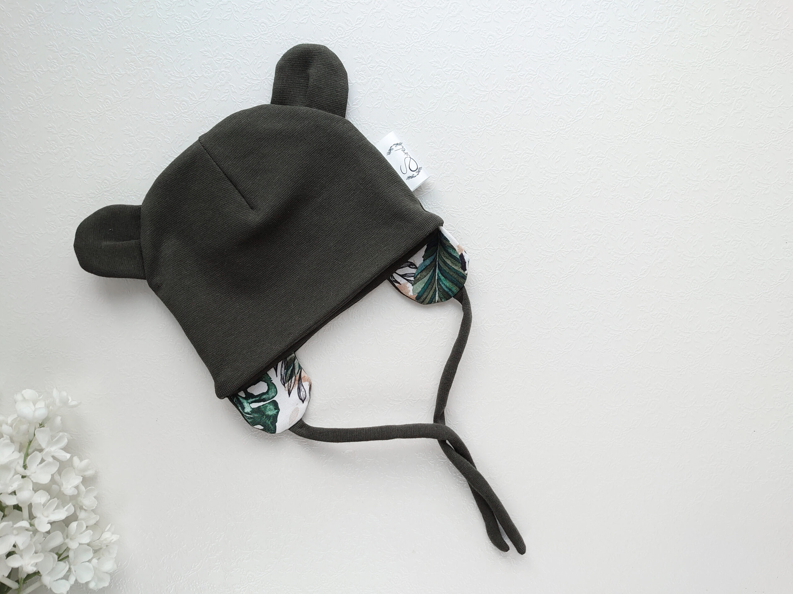 Tumeroheline-poiste-kevadmüts-sügismüts-kõrvadega-soonikkangast-hästi-veniv-beebimüts-sügiseks-ja-kevadeks3